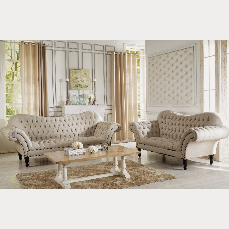 Nice Bostwick Classic Victorian Sofa Set