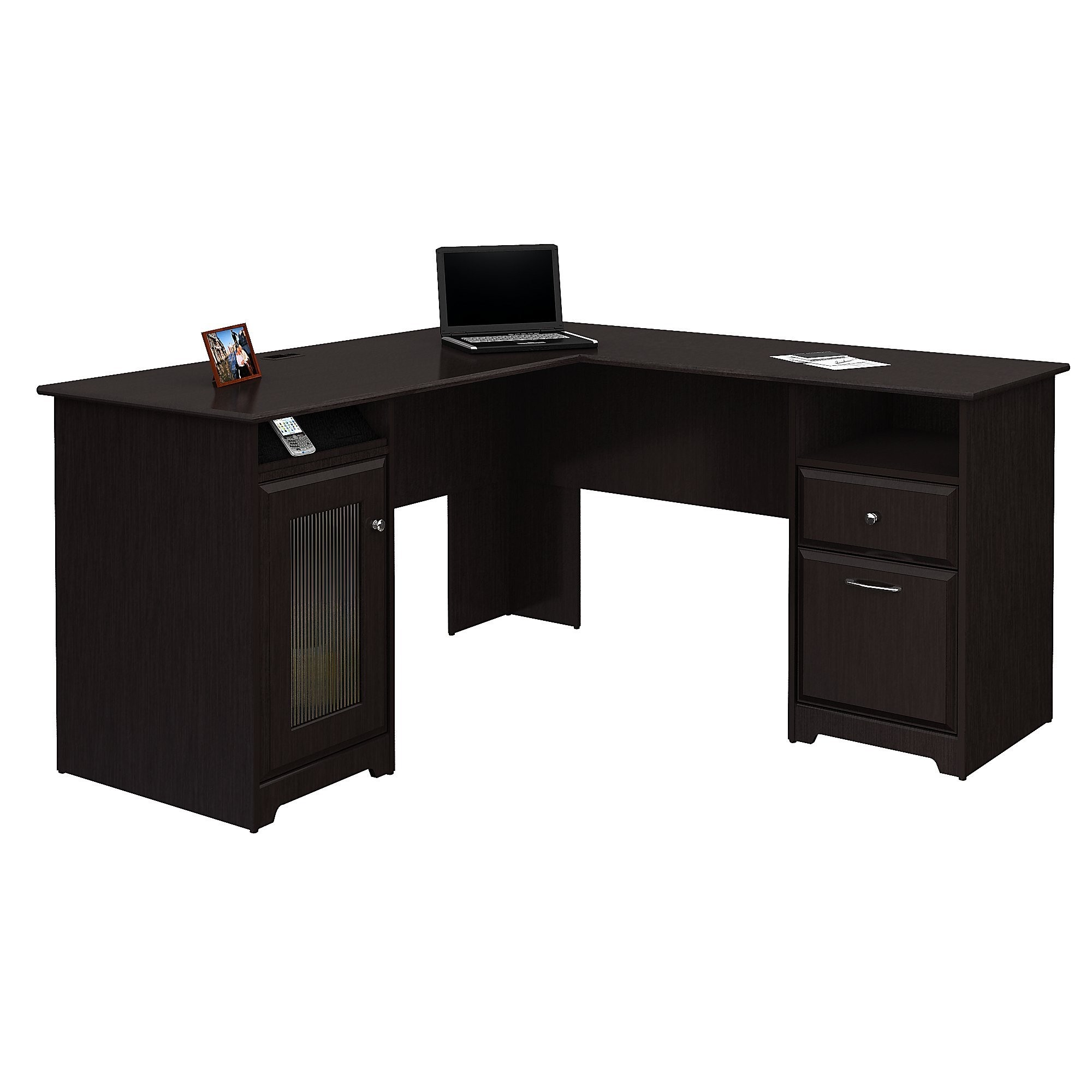 Charmant Cabot L Shape Executive Desk