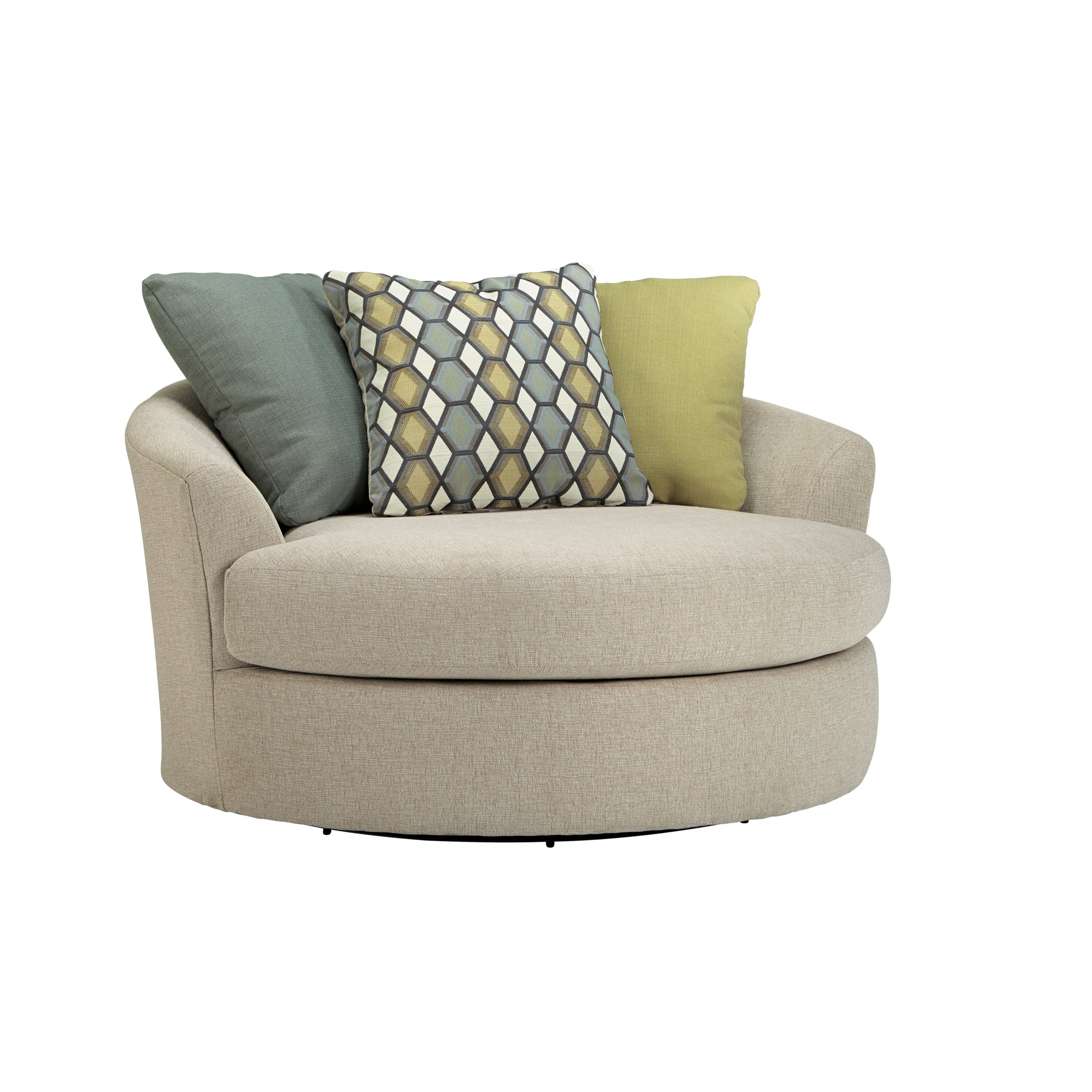 Casheral Oversized Swivel Chair  sc 1 st  Foter : oversized circle chair - Cheerinfomania.Com