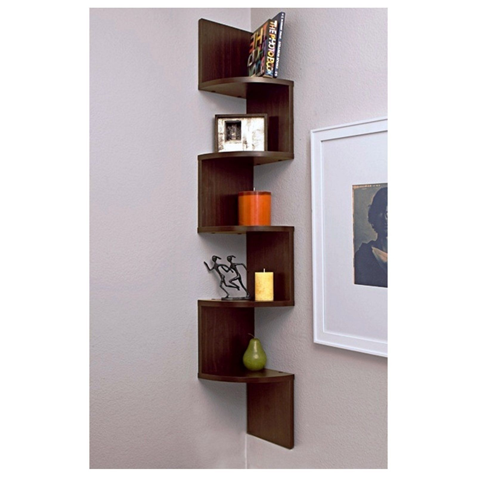 Corner Shelves Living Room Foter