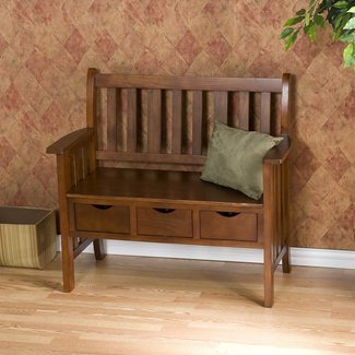 Oak Storage Benches Ideas On Foter