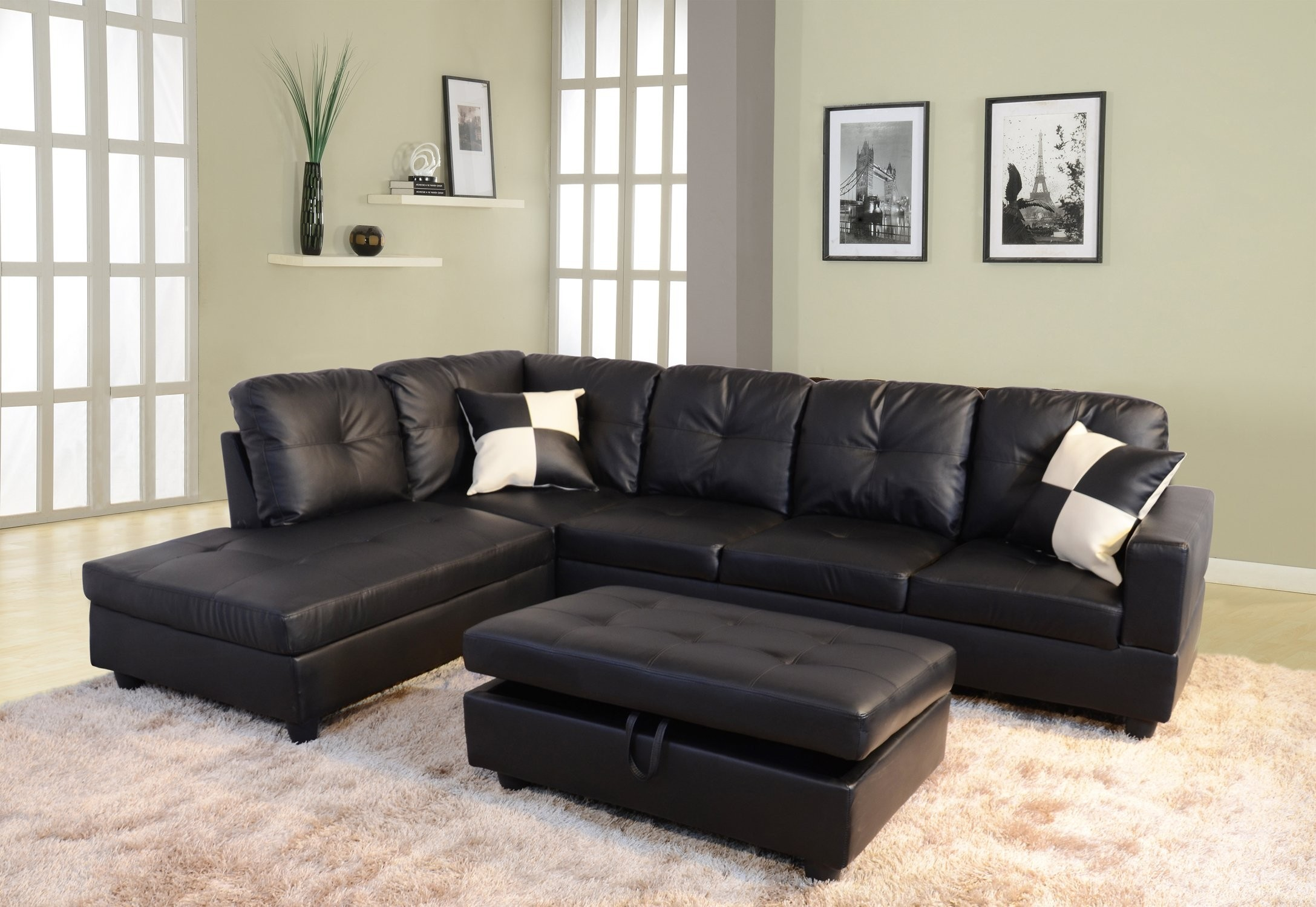 Della Left Hand Facing Sectional