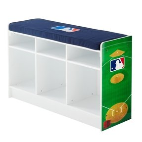 MLB CubeIts 3 Cube Storage Bench