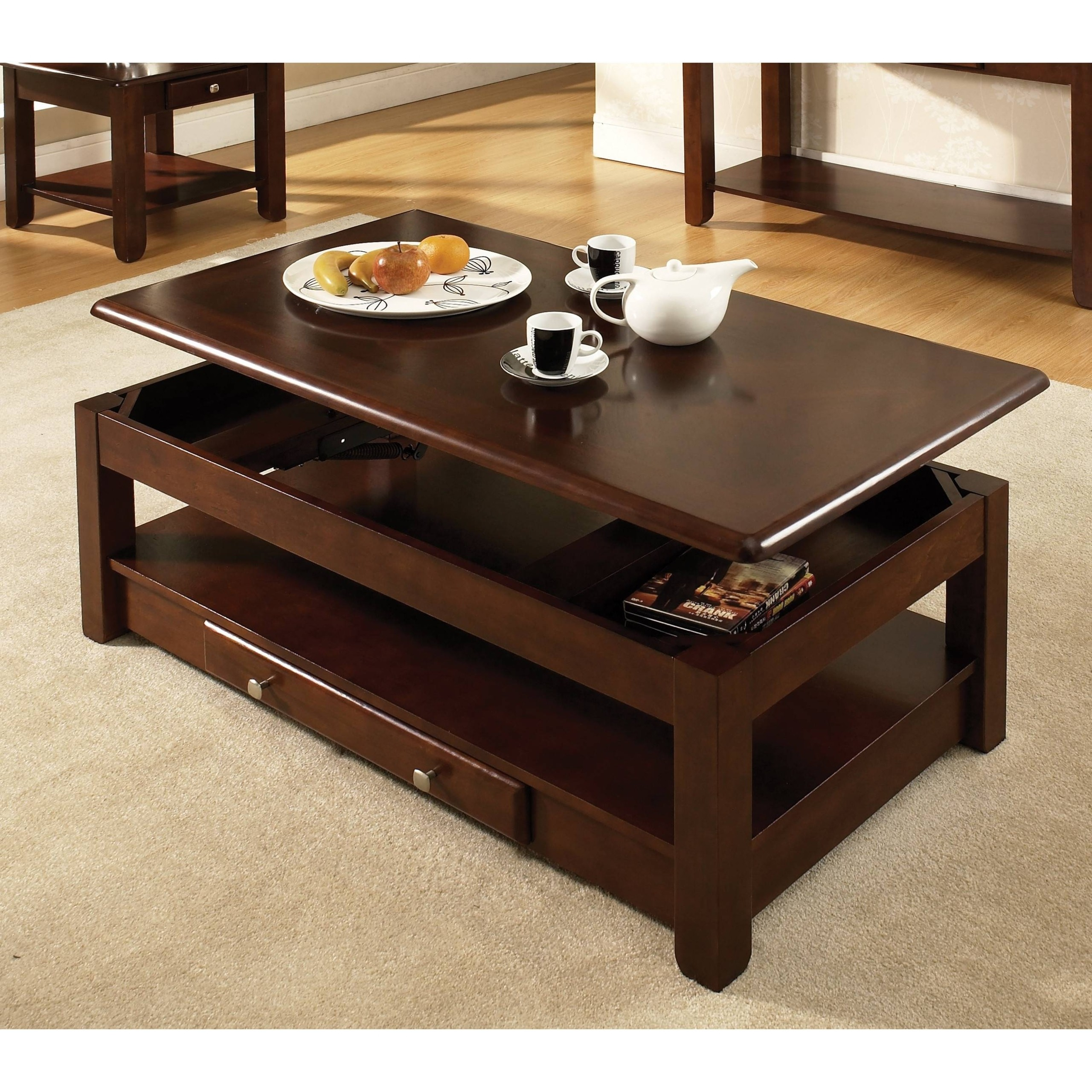 Nelson Lift Top Coffee Table