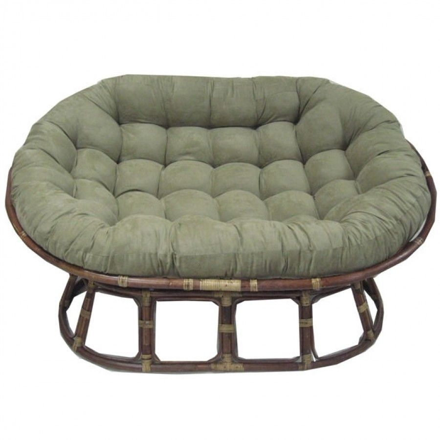Oversize Double Papasan Chair Cushion