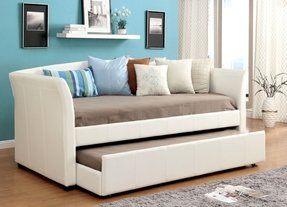 Roma Upholstered Daybed with Trundle