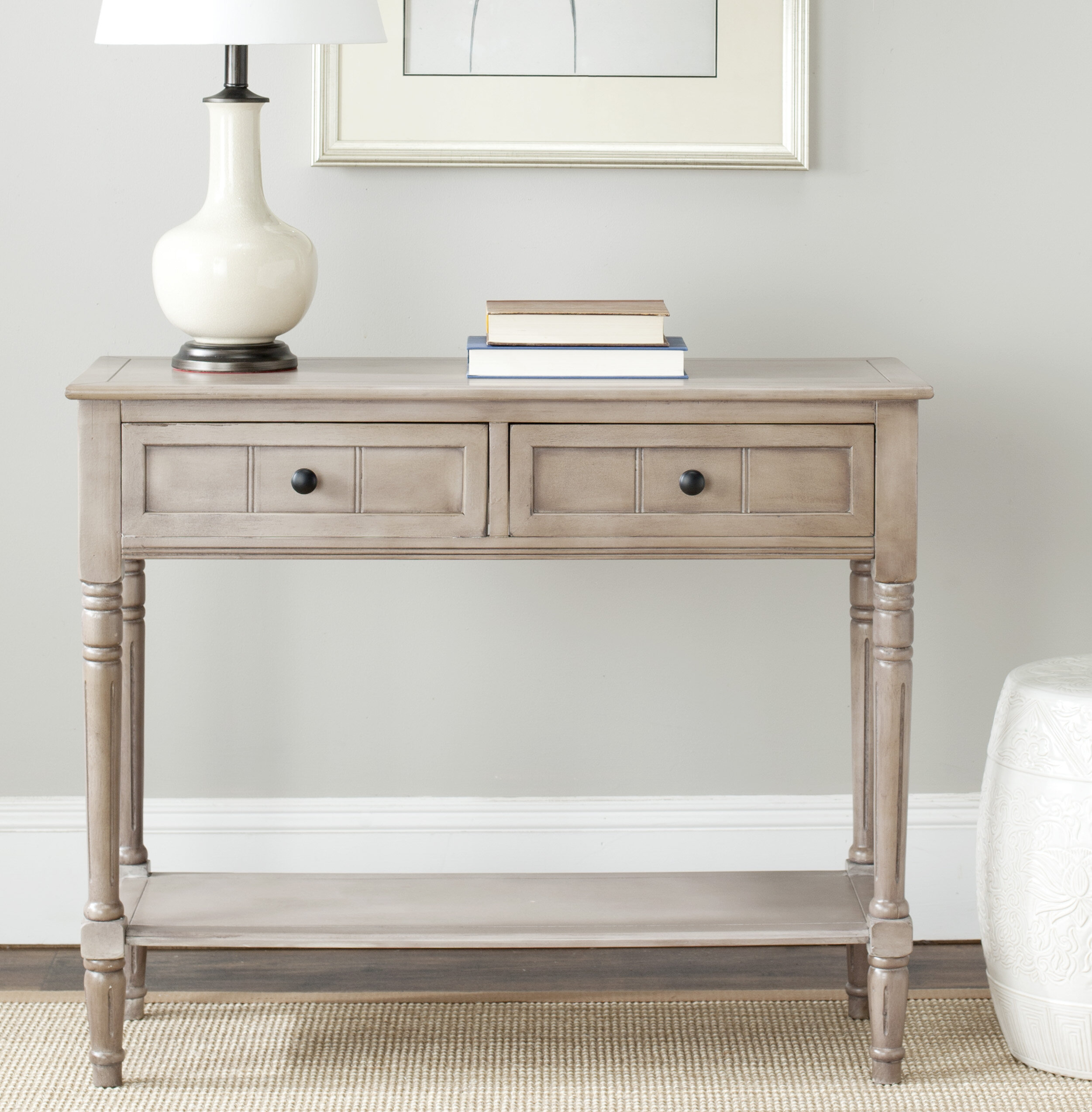 Exceptionnel Sam 2 Drawer Console Table
