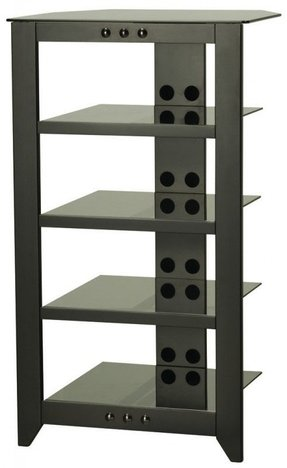 Audio Cabinet It S Time To Bring Modern Accents Into Your Living Room With This Fine Rack Crafted Of Sy Wood In A Greenish Finish