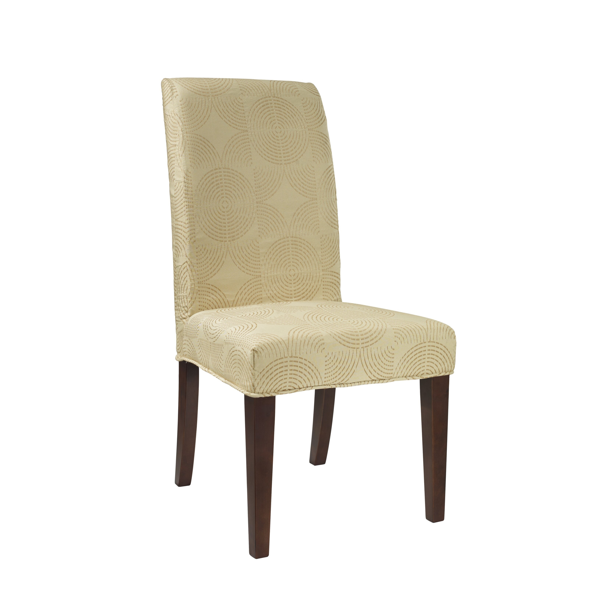 Circle Parson Chair Slipcover