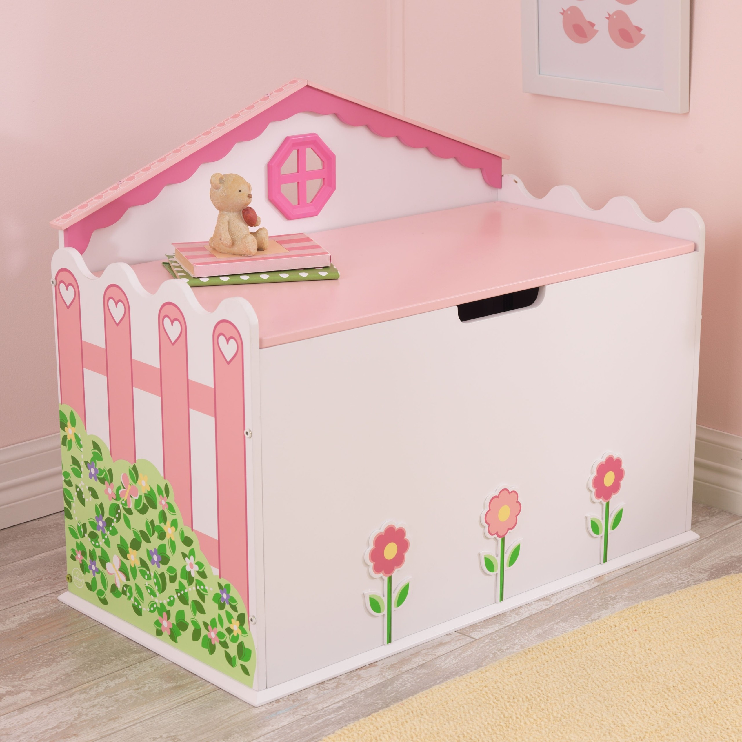 Dollhouse Toy Box