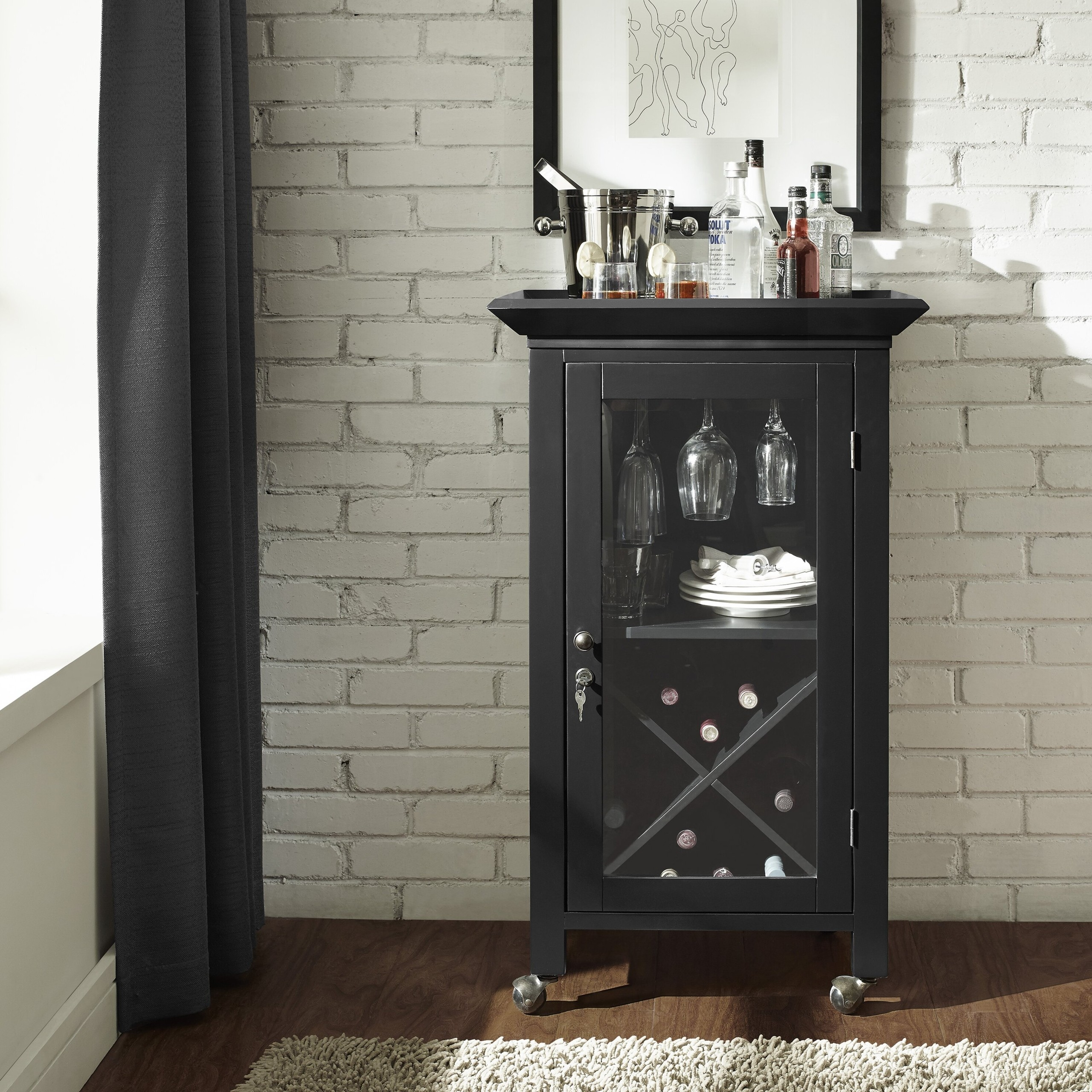 small bar cabinets for home foter rh foter com Small Wood Bar Cabinet Antique Bar Cabinet