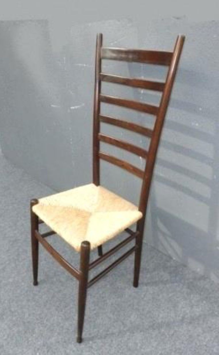 Ladder Back Chairs Rush Seats 3
