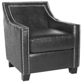 Leandro Arm Chair in Antique Black