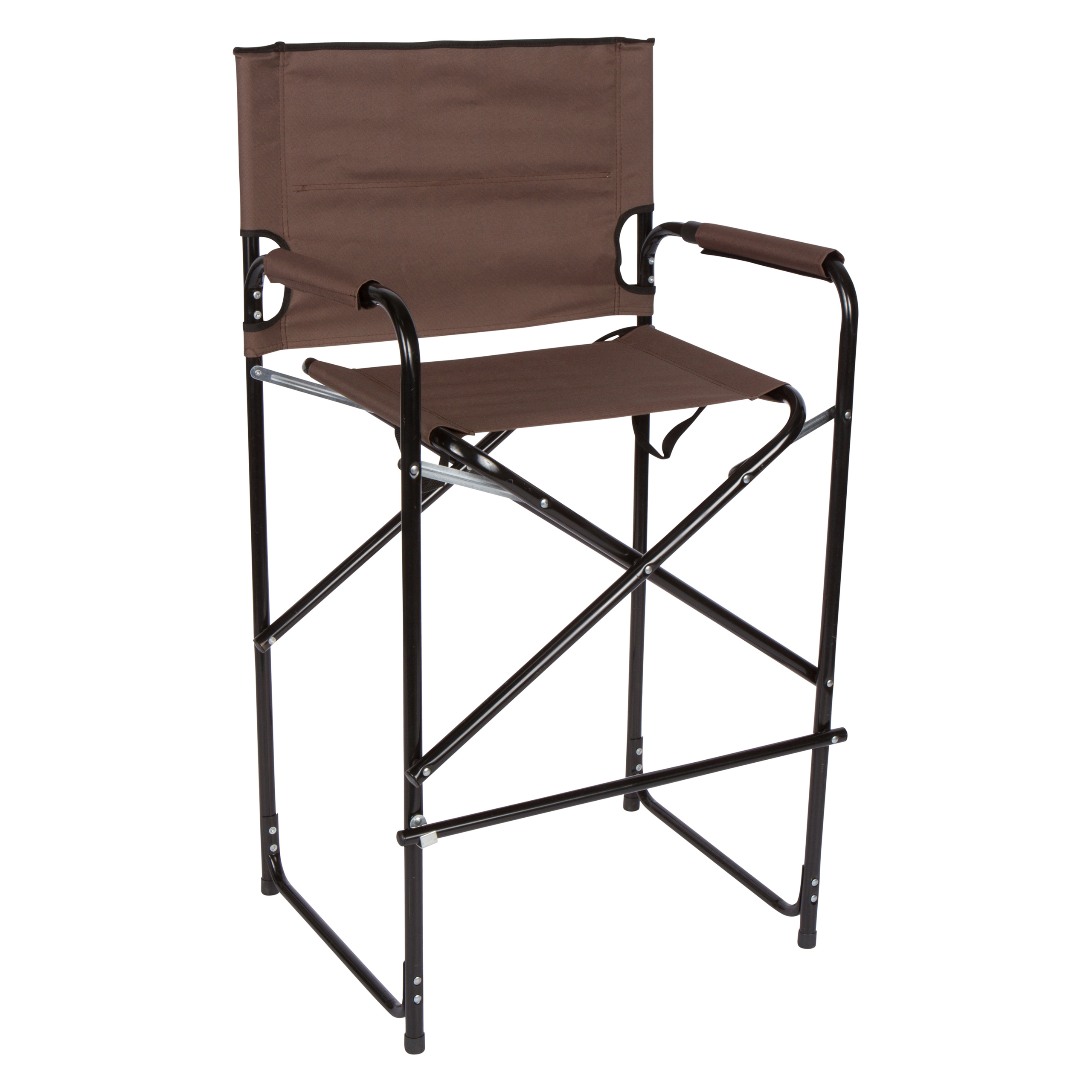 Lightweight And Durable Aluminum Folding Tall Directors Chair By