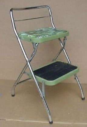 Super Chrome Step Stool Ideas On Foter Short Links Chair Design For Home Short Linksinfo