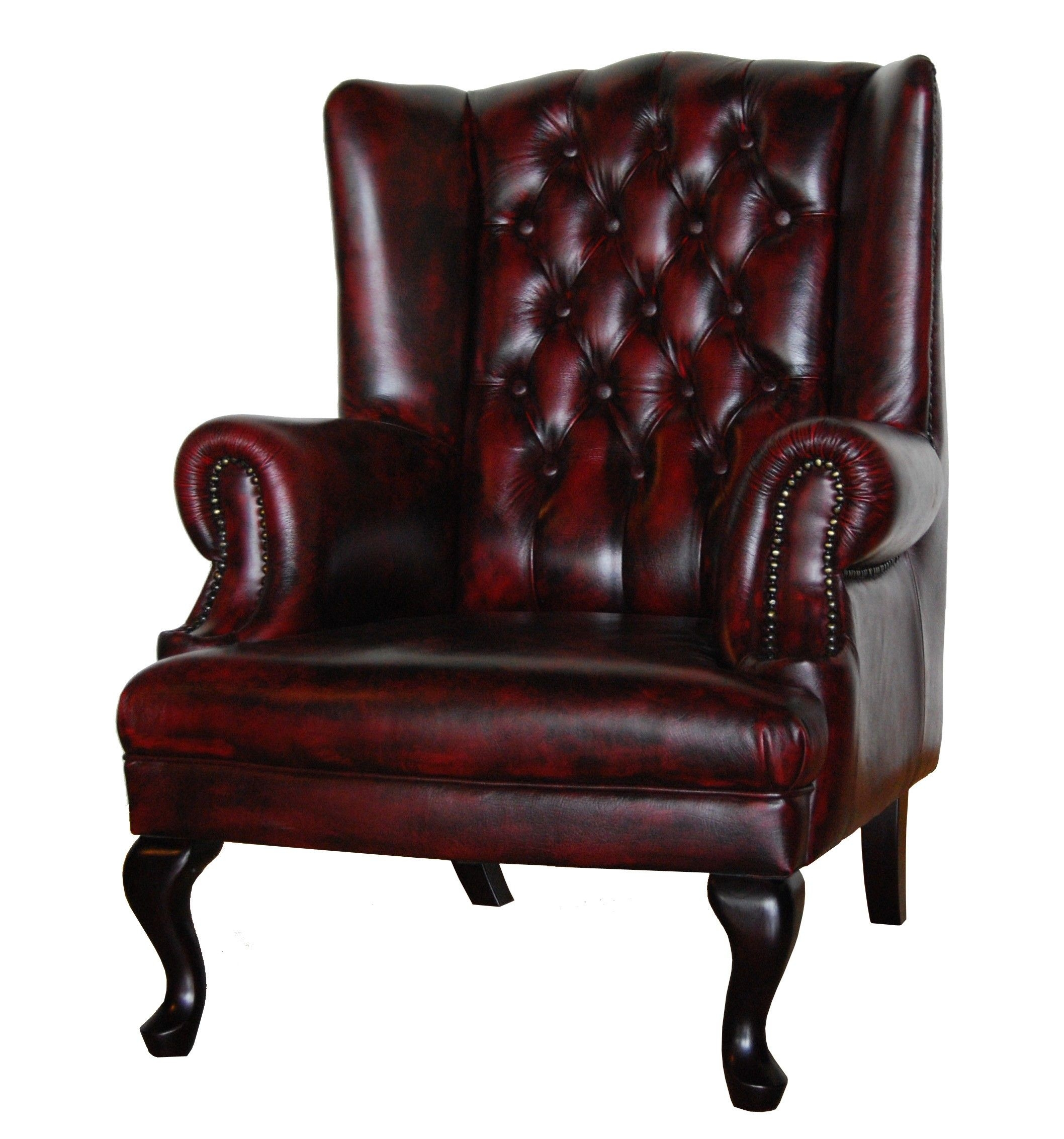 Merveilleux Leather Wingback Recliner Sale