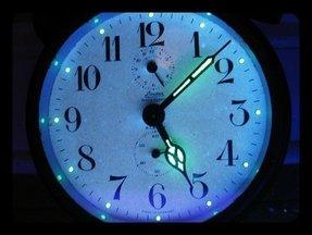 Glow In The Dark Wall Clock Foter