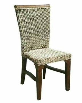 Sea grass dining chairs