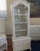 Superieur Sold Gorgeous French Provincial Curio Cabinet By Salontiffani 499