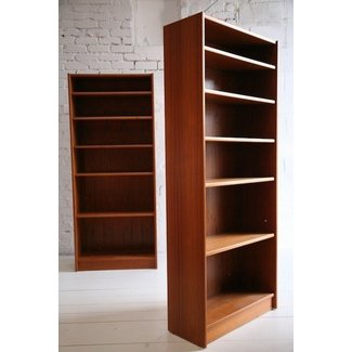 teak bookcases - Teak Bookshelves