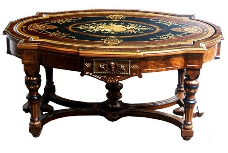 Beau Victorian Coffee Tables 7