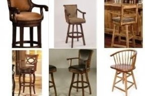 Upholstered Arm Swivel Bar Stool Ideas On Foter