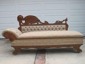 victorian chaise lounge. 1890s Victorian Chaise Lounge Sofa Sleeper