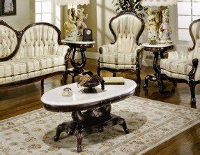 Antique End Tables With Marble Tops