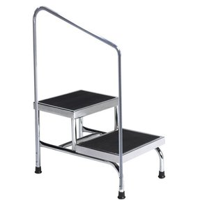 Home housewares furniture two step stool with hand rail