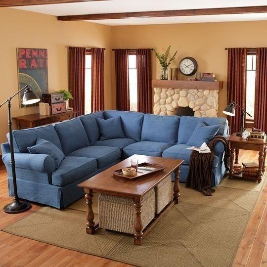 Linden Sofa In Blue Jc Penney
