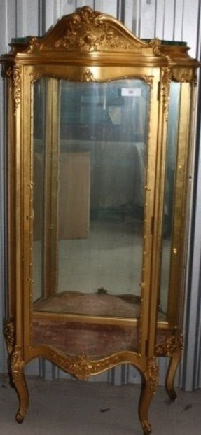 Gold Curio Cabinets Foter