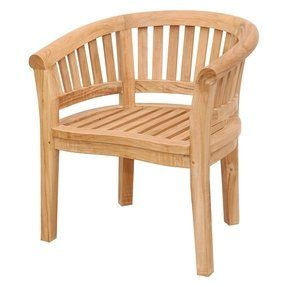 Brilliant Wood Outdoor Arm Chairs Ideas On Foter Interior Design Ideas Tzicisoteloinfo
