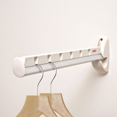 Wall Mounted Hanging Rack   Ideas On Foter