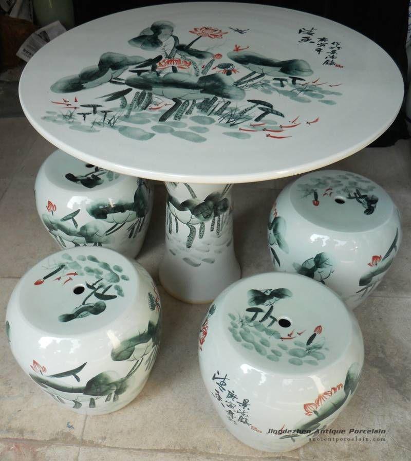 Ceramic Patio Tables 1