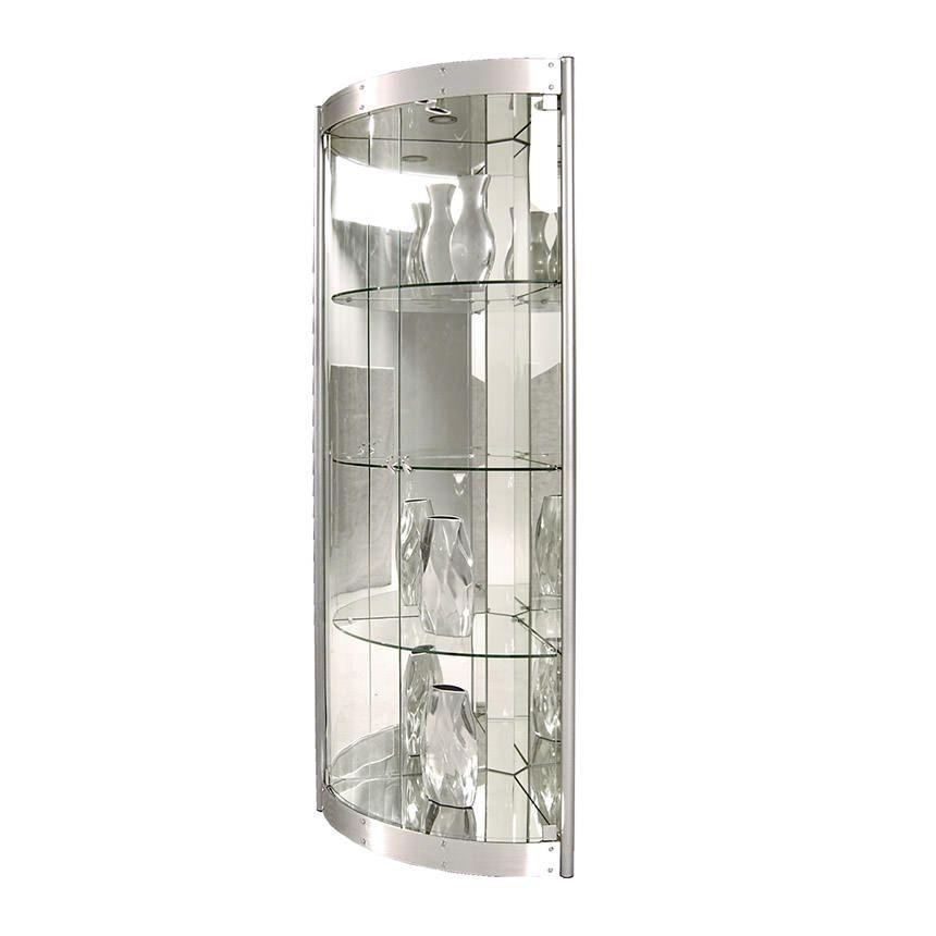 Superb Silver Curio Cabinets 3