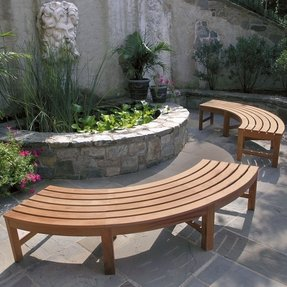 Curved Benches Outdoor Ideas On Foter