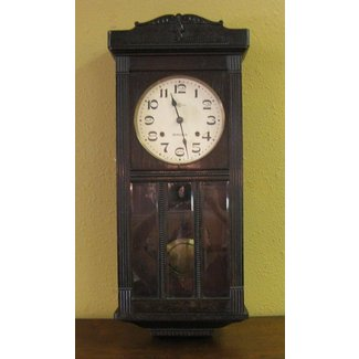 Collectibles clocks antique pre 1930 wall