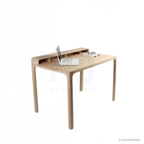 Josephine scandinavian style furniture office desk natural