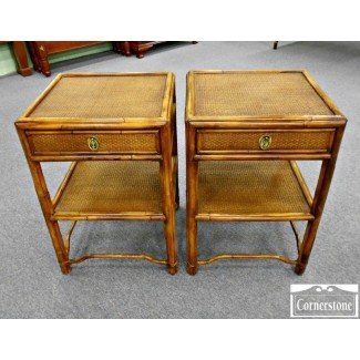 Rattan End Tables 1