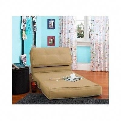 Flip Sleeper Sofa Convertible Chair Bed Dorm Room Couch Fold