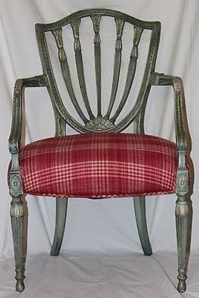 Sheraton Style Arm Chairs 1