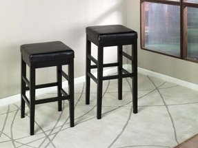 "30"" Sonata Leather Barstool"