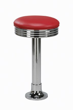 Bolt Down Diner Swivel Bar Stool