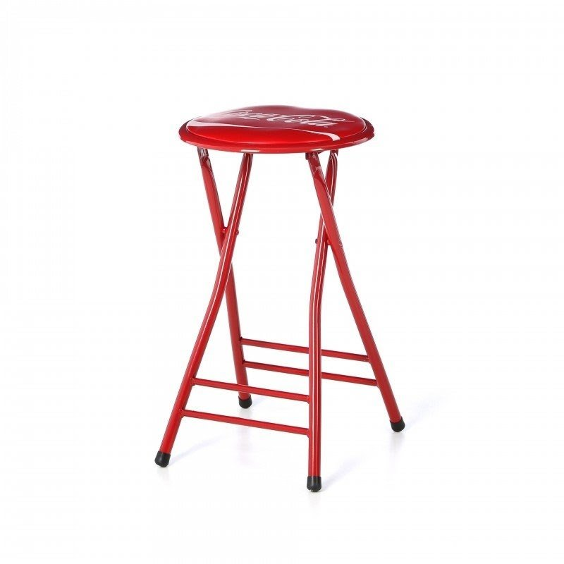 "Coca Cola 24"" Bar Stool with Cushion"