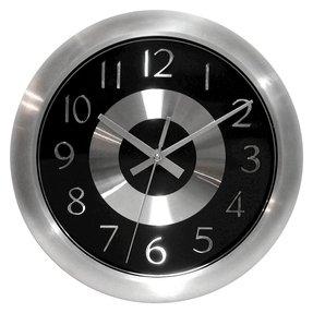 Silver Wall Clocks Ideas On Foter