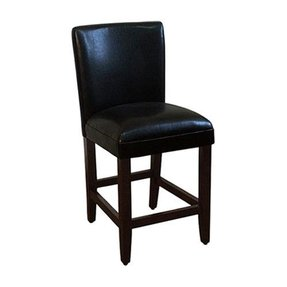 "Kinfine 24"" Bar Stool with Cushion"
