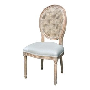 Louis Cane Side Chair