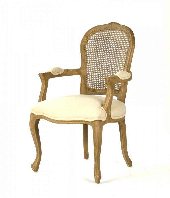 Attrayant Cane Back Arm Chair   Foter