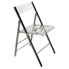 Macbeth Acrylic Foldable Side Chair