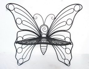 Metal Garden Butterfly Chair